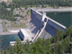Libby Dam on the Kootenai River near Libby, Montana