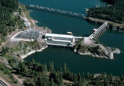 Photo of Albeni Falls Dam